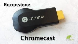 Repeat youtube video Chromecast, Recensione in Italiano da TuttoAndroid.net