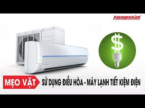 Mẹo sử dụng điều hòa - máy lạnh siêu tiết kiệm điện | Nguyễn Kim