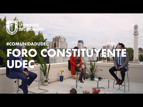 #ComunidadUdeC: Foro Constituyente #UdeC