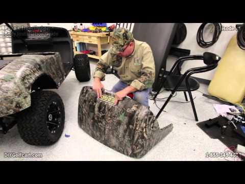 How To Install EZGO TXT Golf Cart Body