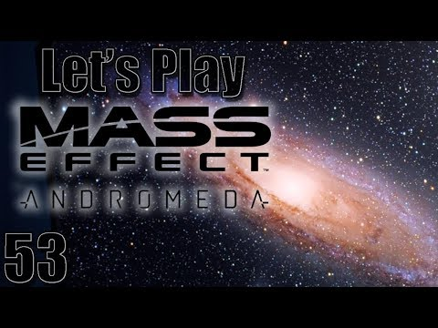 Let's Play Mass Effect: Andromeda, Blind [Ep 53] - Memories of a Benefactor | 1st Playthrough