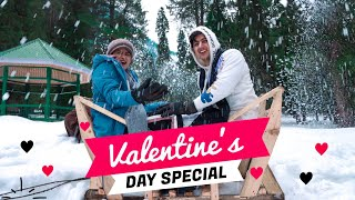 Best Valentine's Day In Kashmir Vlog Part - 1 || Mohak Narang