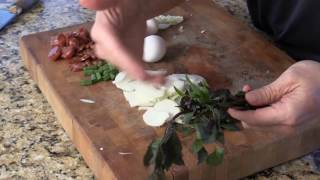 Chinese Sausage Egg Omelette