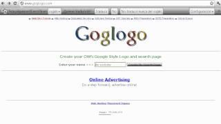 poner tu nombre como google buscador goglogo