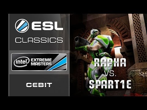 ESL Classics: rapha vs. Spart1e - Semi Final - IEM CeBIT 2011 - Quake Live