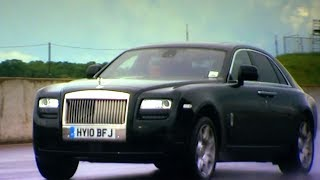 Drag Racing In A Rolls Royce TBT Fifth Gear смотреть