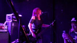 Girlschool, Live, in Brooklyn, New York, June 14, 2015, Come, The Revolution