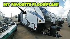 My new Favorite Travel Trailer Floorplan!  Not a rear living room RV!