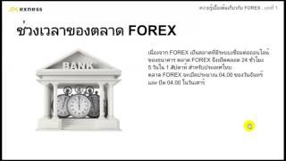 ความรู้เบื้องต้นเกี่ยวกับ Forex บทที่ 1