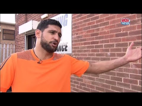 """It's time to come back and do a fight in the UK"" - Amir Khan"