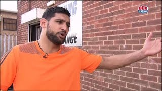 """""""It's time to come back and do a fight in the UK"""" - Amir Khan"""