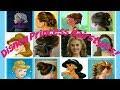 6 Disney Princess Hair Tutorials! Hairstyles For Belle, Jasmine, Elsa, Anna & Cinderella