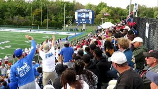 Fans in the Stands Argue at Rival College Football Game - SHU vs CCSU - October 20, 2018