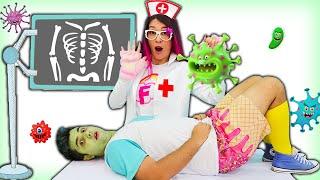 Franzinha é médico por um dia e salva a Wiizinho! ♥ Maloucos History of washing hands