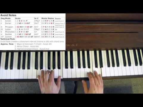 Jazz Improvisation - Avoid Notes
