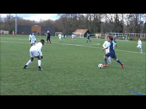 Match amical U14 INF Clairefontaine génération 2004 vs Le Havre AC (1ère mi-temps), 28 03 2018