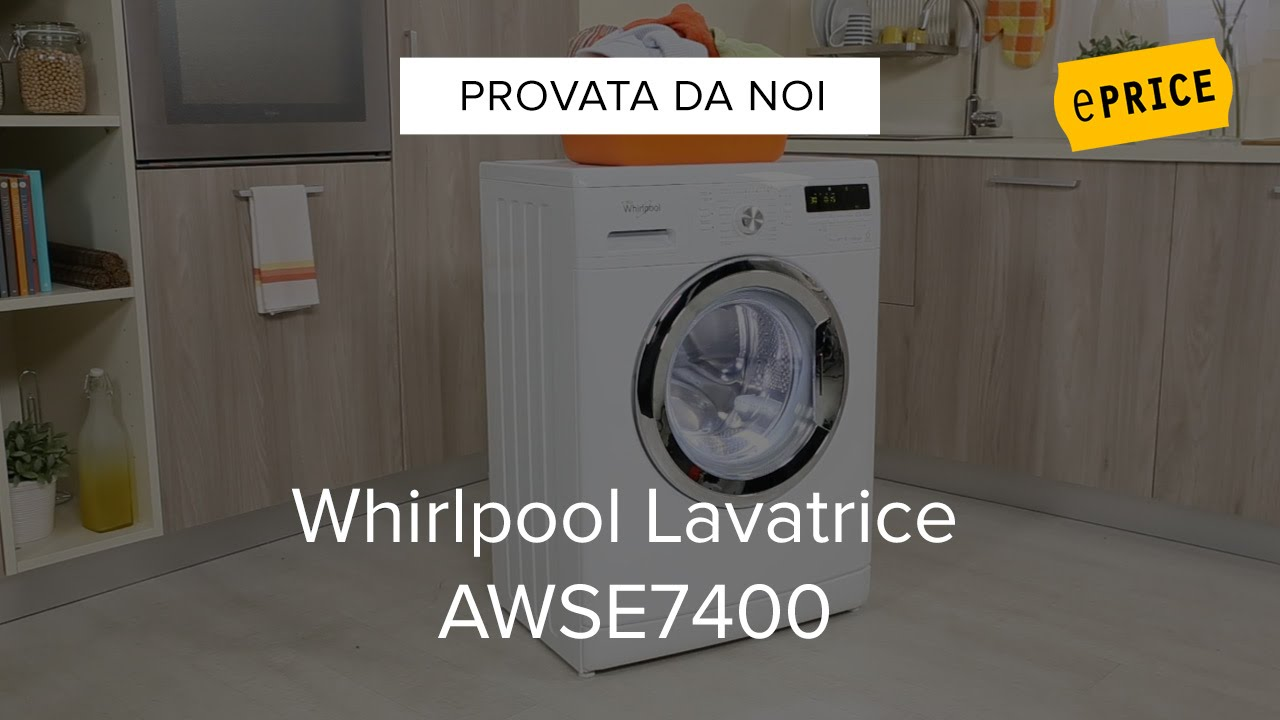 Video recensione lavatrice whirlpool awse7400 youtube for Whirlpool awse7400