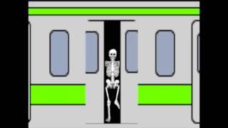 電車 踏切 ドア railroad crossing thumbnail