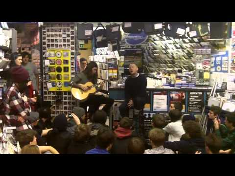 Pure Love acoustic instore at Banquet Records - Feb 2013