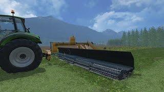 LS15 Lindbejb Oxbo 334 Merger Mod für Landwirtschafts Simulator 15