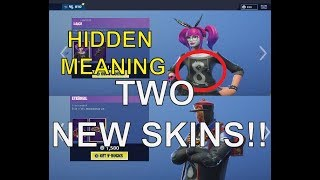 **NEW** PARADOX + LACE NEW SKINS!! HIDDEN DRAGON SYMBOL! FORTNITE ITEM SHOP JAN 12, 2019