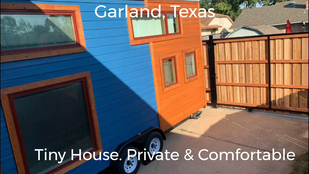 Texas - Tiny House  Private & Comfortable / Tiny House Vacation Rental