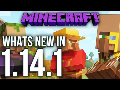 Whats New In Minecraft 1.14.1 Java Edition?
