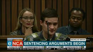 Convicted rapist Nicholas Ninow speaks