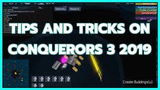 Wie man mehr Spiele in Eroberer 3 gewinnen | Anfänger Tipps und Tricks für Eroberer 3 Roblox |