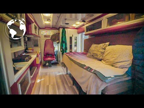 Living in a Converted Ambulance to Travel the World