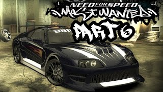 Need for Speed Most Wanted (2005) Gameplay Walkthrough Part 6 - BLACKLIST #13 PINKSLIP ??? SUPRA