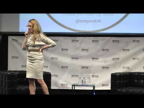 Elizabeth McKee Gore (United Nations Foundation) at Startup Grind 2014