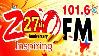 Announcer Radio 101.6 ZOO FM Batam - Indonesia ( Happy Anniversary 27th Inspiring)