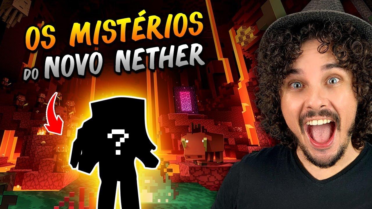 ENTREI NO NOVO NETHER NA SAGA DAS SAGAS DO MINECRAFT #6