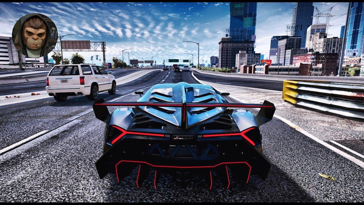 Gta 6 Graphics Redux Lamborghini Veneno Ultra
