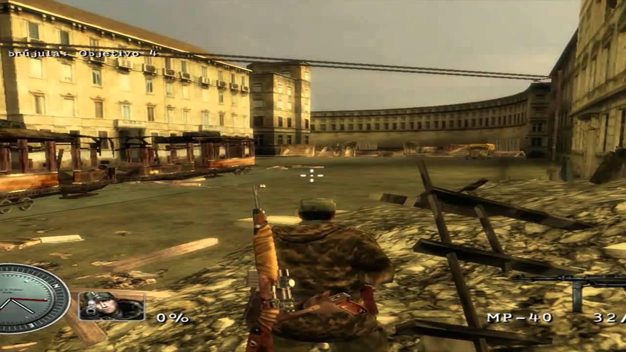 Sniper Elite Pc Espaol Mission 2 Parte 1 Gameplay