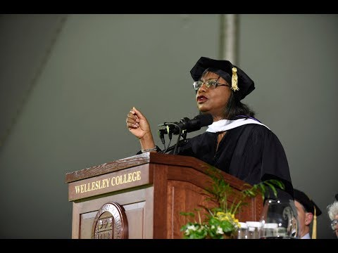 Anita Hill Delivers Wellesley's 2019 Commencement Address ...