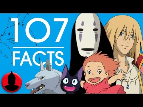 107 Studio Ghibli Facts - Studio Ghibli Week - (ToonedUp #205) | ChannelFrederator