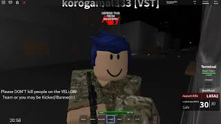 ROBLOX THE GREAT WALL OF DELL PLAY AS UK SOLDIER