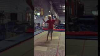 Trev slow mot trampoline 2016