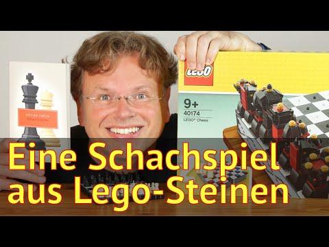 Literatur und Lego: Wir bauen, spielen und lesen Schach #40174