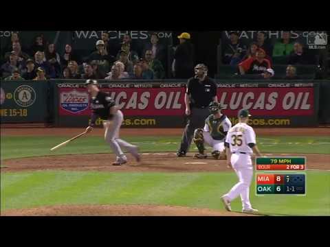 All Miami Marlins 2017 Home Runs (Part 1)