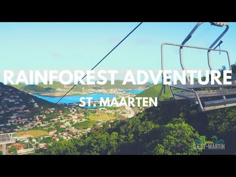 RainForest adventure St. Maarten Visit 2017