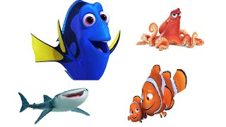 Finding Dory - characters