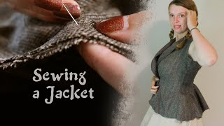 Sewing for Fun: Fabric and Starting a Jacket (EP2)