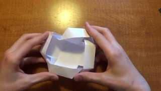 Сделай сам - Волшебная коробочка из бумаги!