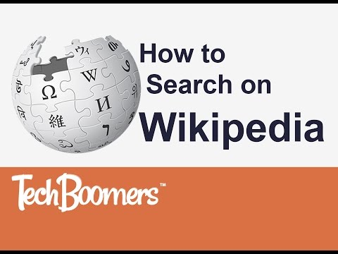 How to Search on Wikipedia