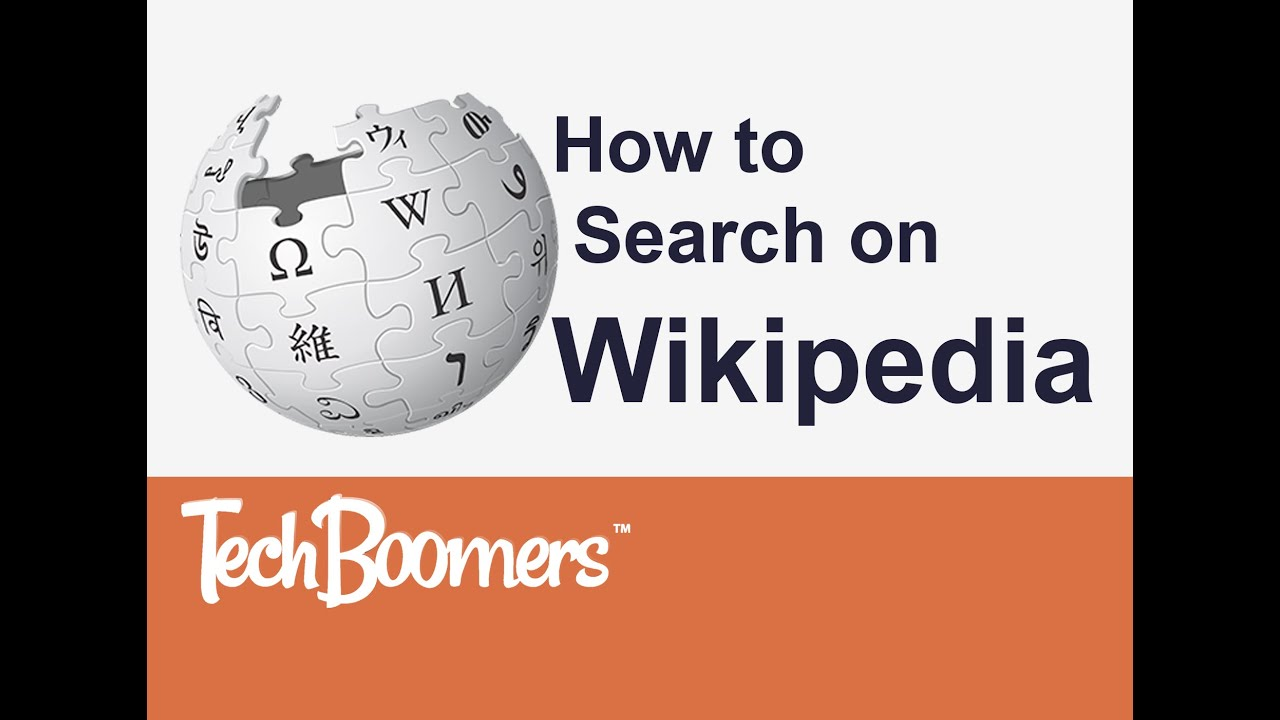 How to Search on Wikipedia YouTube