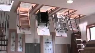 Чердачная лестница Oman Mini Stallux(Краткий обзор чердачной лестницы Oman Mini Stallux. Подробнее на сайте www.trikirpicha.com (Три кирпича - поиск строительных..., 2014-04-15T08:45:28.000Z)
