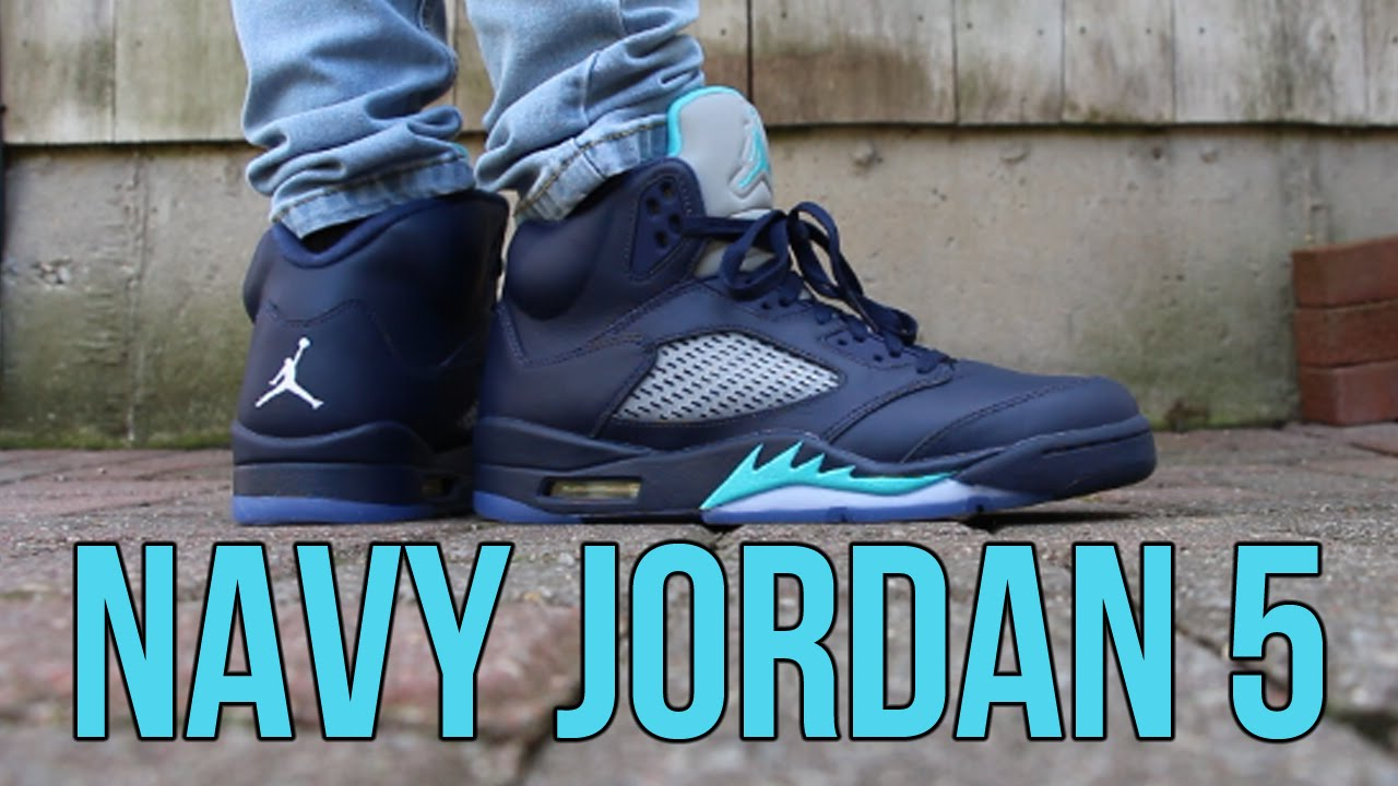 81f7936d2882 On-Feet + Sneaker Review  Air Jordan 5 Retro  Midnight Navy